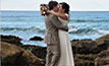 Couple getting married on Northern Beaches